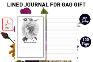 Print on Demand: Lined Journal for Gag Gift -KDP Interior Graphic KDP Interiors By Gurus Kdp Templates
