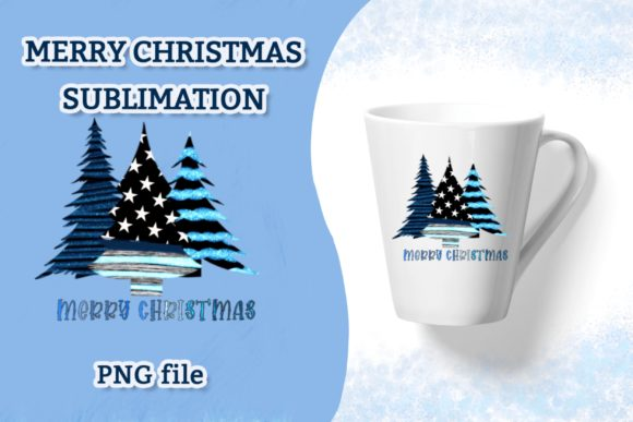 Merry Christmas Sublimation PNG File Graphic Crafts By eDigital Studio