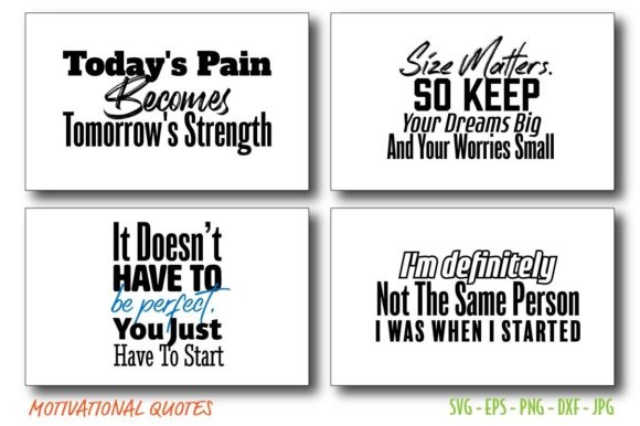 Motivational Quotes  Bundle Vector Graphic Crafts By Saudagar