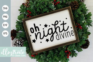 Print on Demand: Oh Night Devine Graphic Crafts By illuztrate