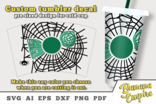 Print on Demand: Personalized Halloween Tumbler Decal Graphic Crafts By Banana Empire