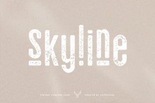 Print on Demand: Skyline Sans Serif Font By SilverStag