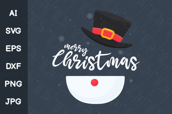 Snowman Costume for Christmas Graphic Illustrations By CRStocker