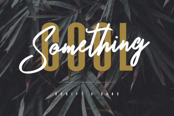 Print on Demand: Something Cool Script & Handwritten Font By Maulana Creative