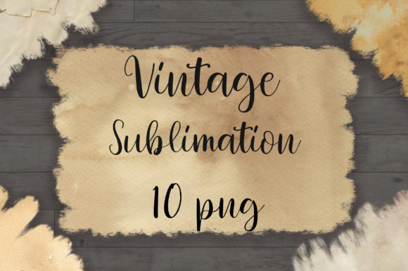 Sublimation Vintage Background Graphic Backgrounds By PinkPearly