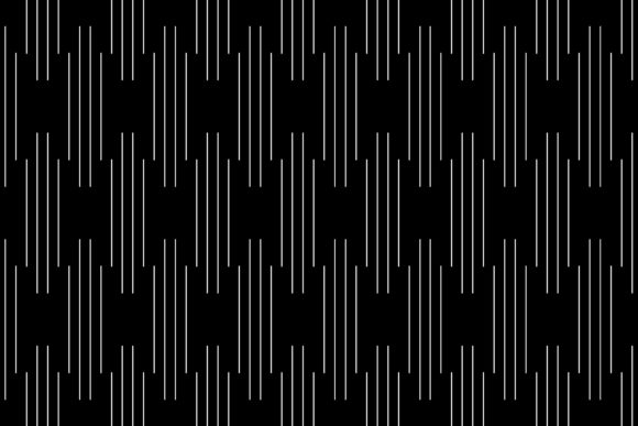 Vertical of Lines Random Graphic Patterns By asesidea