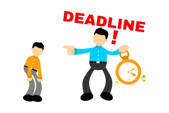Business People Overtime at Deadline Graphic Illustrations By Ardwork