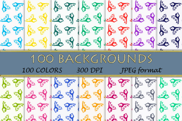 100 Yoga Digital Papers Graphic Backgrounds By SweetDesign