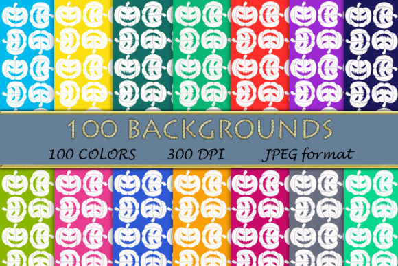 100 Pumpkin Pattern Digital Papers Graphic Backgrounds By SweetDesign