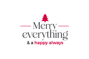 Merry Everything & a Happy Always Christmas Craft Cut File By Creative Fabrica Crafts 1