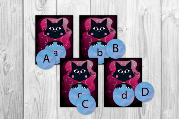Alphabet Cards for Kids Graphic Graphic Templates By Igraphic Studio