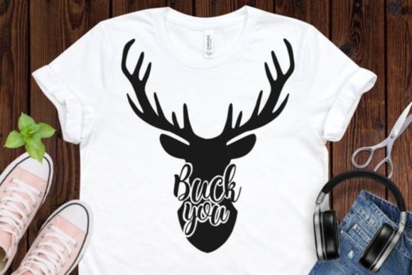 Buck You Graphic Illustrations By BiBi Shop