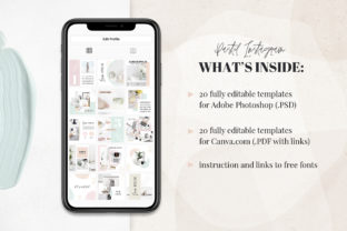 Canva Instagram Templates Pastel Graphic Graphic Templates By switzershop 2