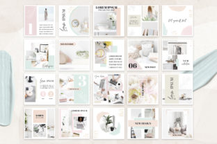 Canva Instagram Templates Pastel Graphic Graphic Templates By switzershop 3