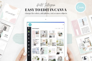 Canva Instagram Templates Pastel Graphic Graphic Templates By switzershop 4