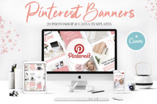 Canva Pinterest Templates Graphic Graphic Templates By switzershop