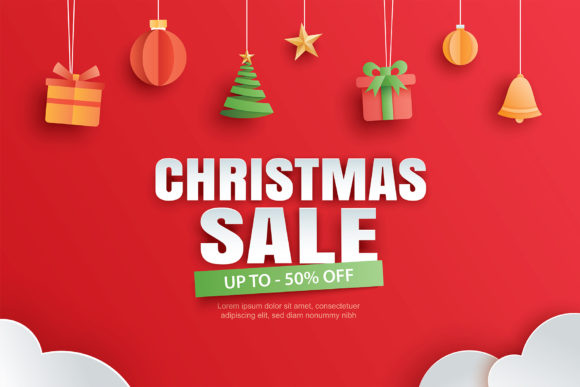 Christmas Sale Banner 1 Graphic Illustrations By khanisorn