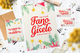 Print on Demand: Christy Smiley Script & Handwritten Font By Situjuh 2