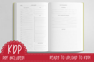 Print on Demand: Daily to Do & Reflection Journal | KDP Graphic KDP Interiors By planfantastic