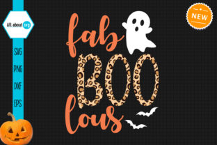 Print on Demand: Fab Boo Lous Svg, Leopard Print Svg Graphic Crafts By All About Svg