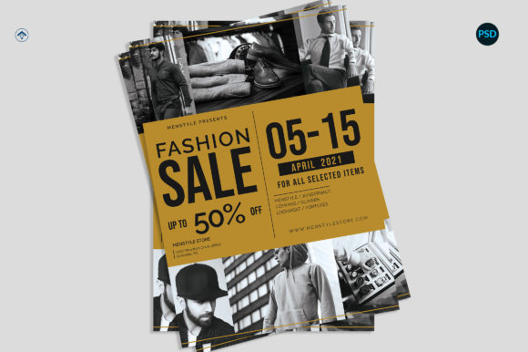 Fashion Sale Flyer V1 Graphic Print Templates By risegraph