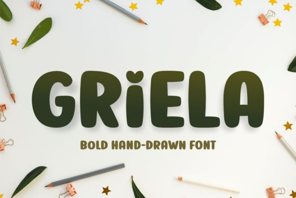 Print on Demand: Griela Display Font By Jasm (7NTypes)
