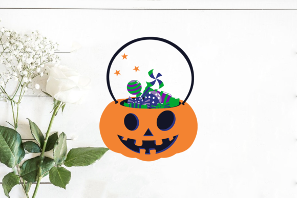 Halloween Pumpkin Sweet Candy Graphic Print Templates By Svg Market