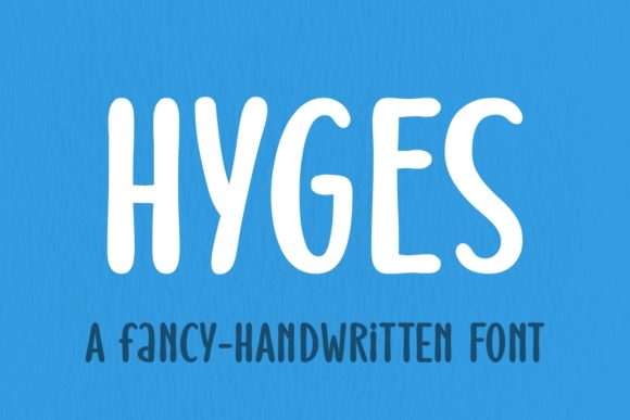 Print on Demand: Hyges Display Font By Jasm (7NTypes)