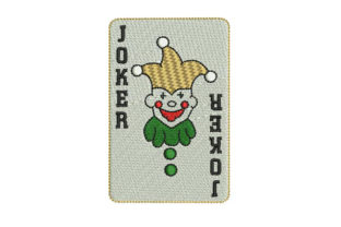 Joker Games & Leisure Embroidery Design By BabyNucci Embroidery Designs