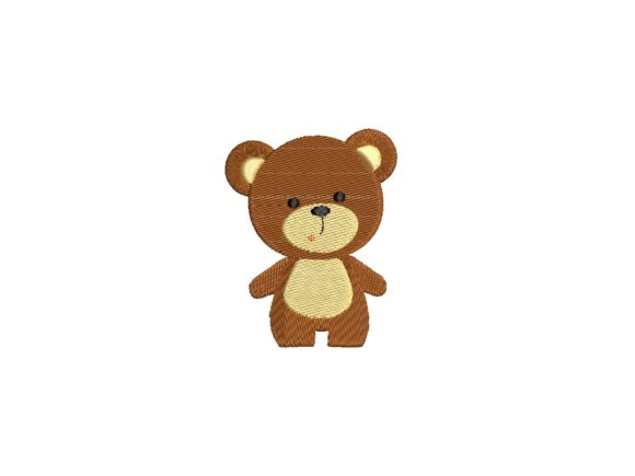 Little Bear Baby Animals Embroidery Design By carasembor