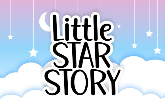 Print on Demand: Little Star Story Script & Handwritten Schriftarten von Jasm (7NTypes)