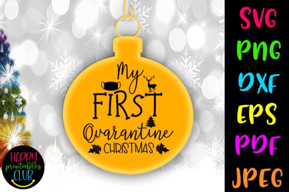 Print on Demand: My First Quarantine Christmas Graphic Crafts By Happy Printables Club