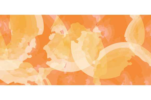 Orange Watercolor Background Design Graphic Backgrounds By Muhammad Rizky Klinsman