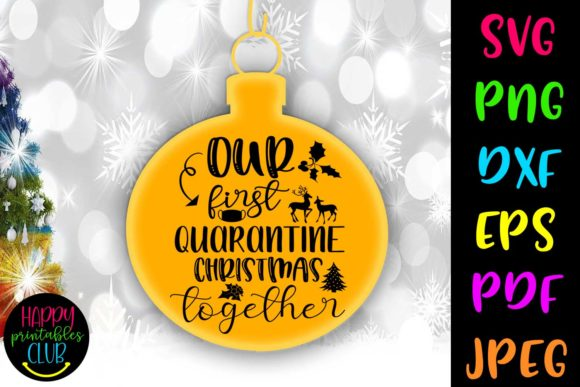 Print on Demand: Our First Quarantine Christmas Graphic Crafts By Happy Printables Club