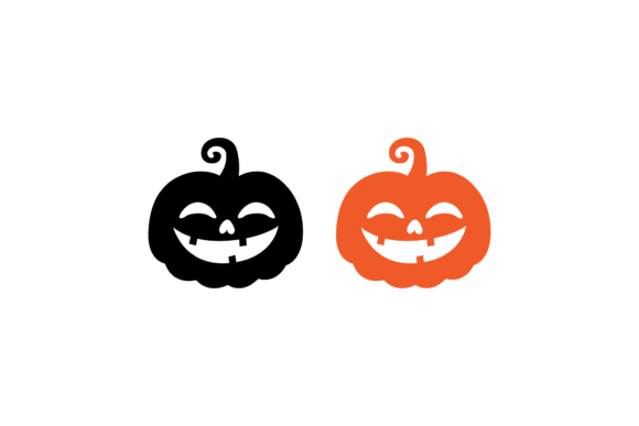 Pumpkin Silhouette Halloween Vectors 04 Graphic Illustrations By 1riaspengantin