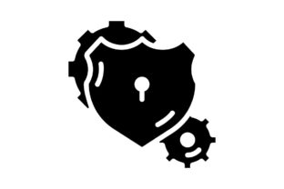 Print on Demand: Lock Management Graphic Icons By khld939
