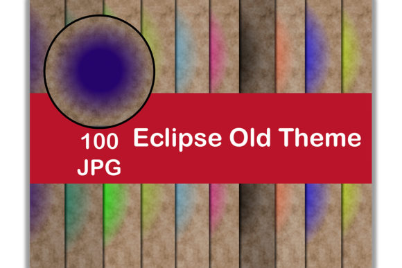 100 Digital Paper (Eclipse Old Theme) Graphic Backgrounds By Kamal Essouafi