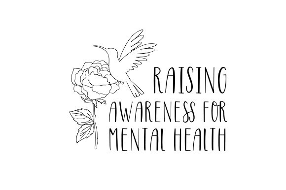 Raising Awareness for Mental Health Awareness Craft Cut File By Creative Fabrica Crafts