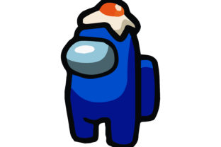 AMONG US ICON BLUE CHARACTER 2 Graphic Illustrations By studiopayon