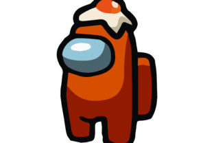 AMONG US ICON ORANGE CHARACTER Graphic Illustrations By studiopayon