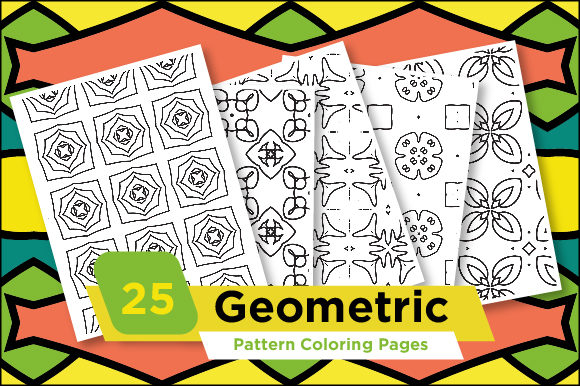 Print on Demand: Adult Coloring Pattern Pages Graphic Coloring Pages & Books Adults By Riduwan Molla