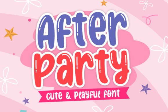 Print on Demand: After Party Display Font By Holydie Studio