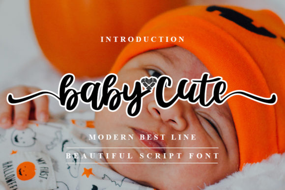 Print on Demand: Baby Cute Script & Handwritten Font By NYA Letter
