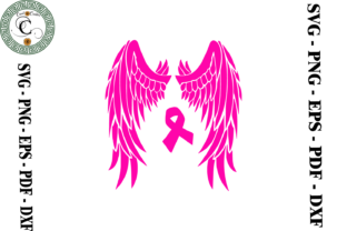 Print on Demand: Breast Cancer Ribbon Graphic Print Templates By Cricut Creation