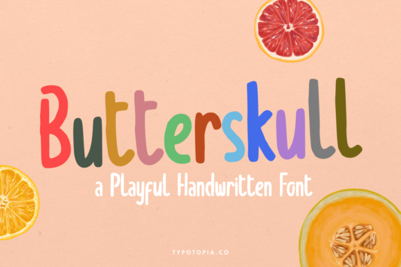 Print on Demand: Butterskull Display Font By typotopia