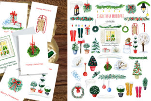 Christmas Holiday Doors Creator Graphic Illustrations By LABFcreations 8