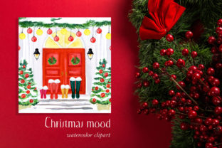 Christmas Holiday Doors Creator Graphic Illustrations By LABFcreations 9