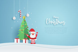 Print on Demand: Christmas Background Design. Graphic Graphic Templates By ngabeivector