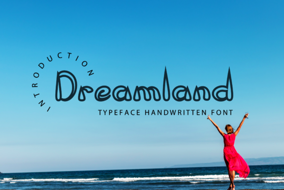 Print on Demand: Dreamland Display Font By giatstudios