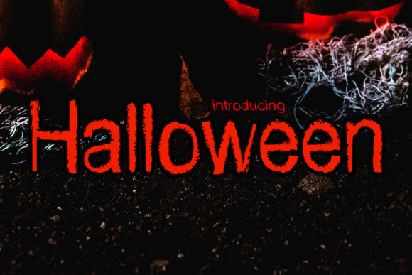 Print on Demand: Halloween Display Font By Roni Studio